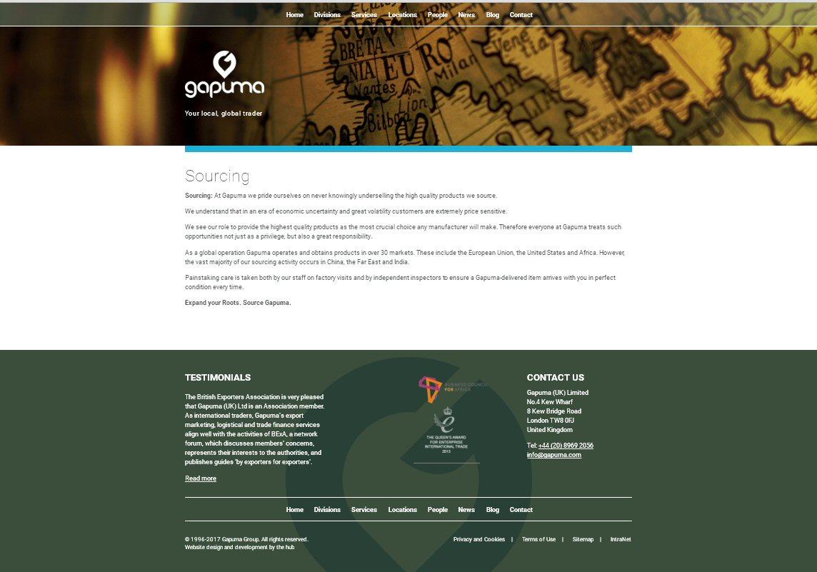 Gapuma Website