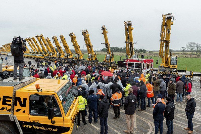 Euro Auctions draws a big crowd