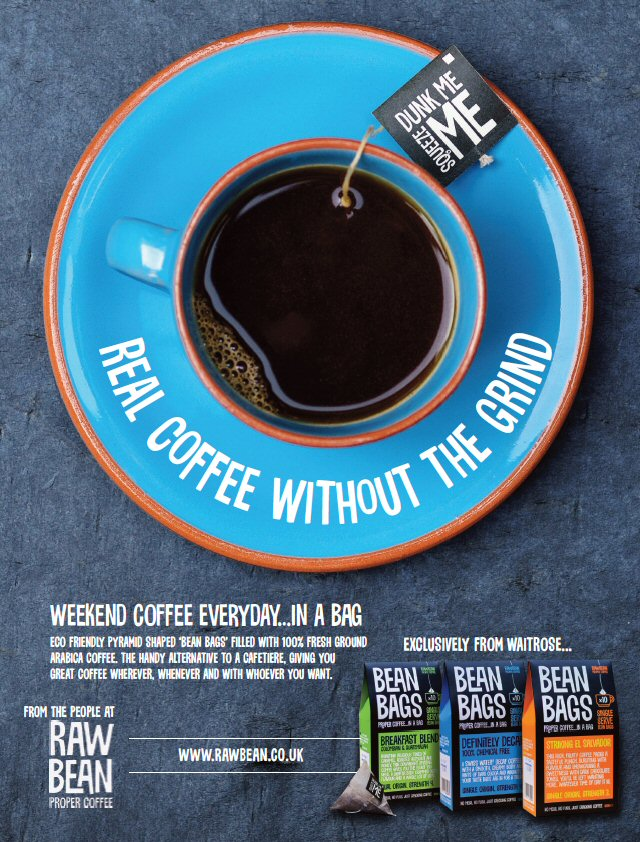Creative Real Coffee advert