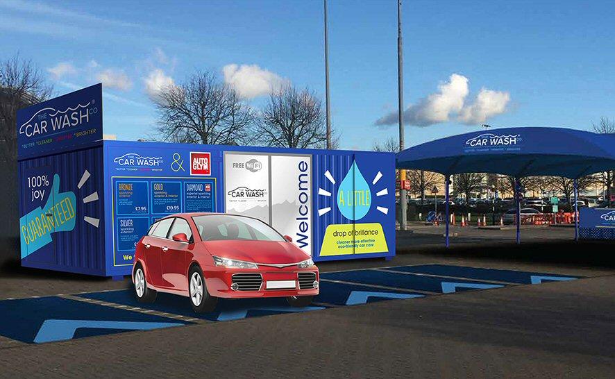 Car Wash concept for BrandBox