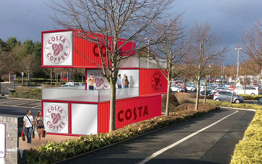 Costa Coffee concept from Brandbox