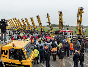 Euro Auctions draws a crowd