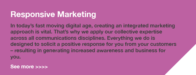 Responsive Marketing Banner